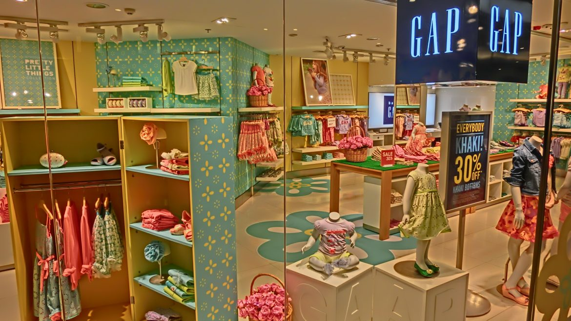 Baby Gap store front